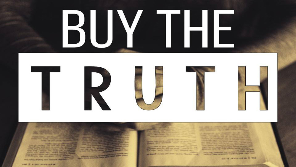Buy the Truth Image