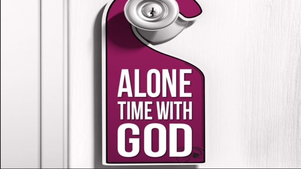 Alone Time With God Image