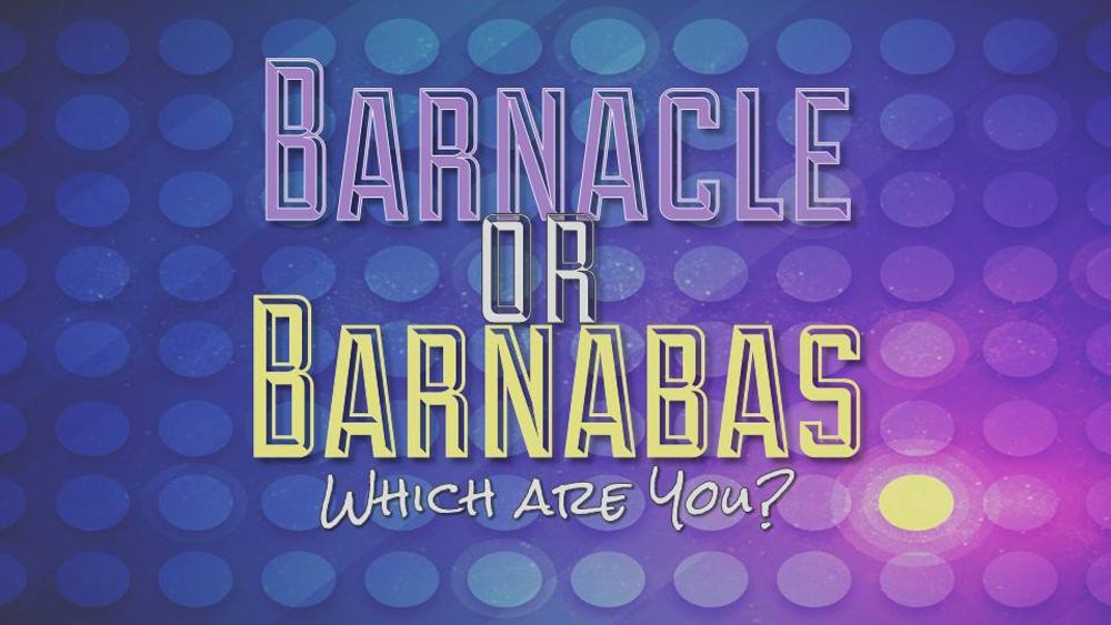 Barnacle or Barnabas: Which Are You? Image
