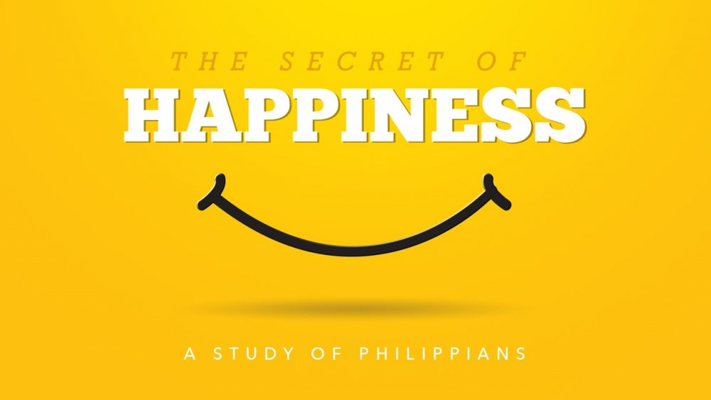 The Secret of Happiness (Part 9 - The Joy of Pressing Onward) Image