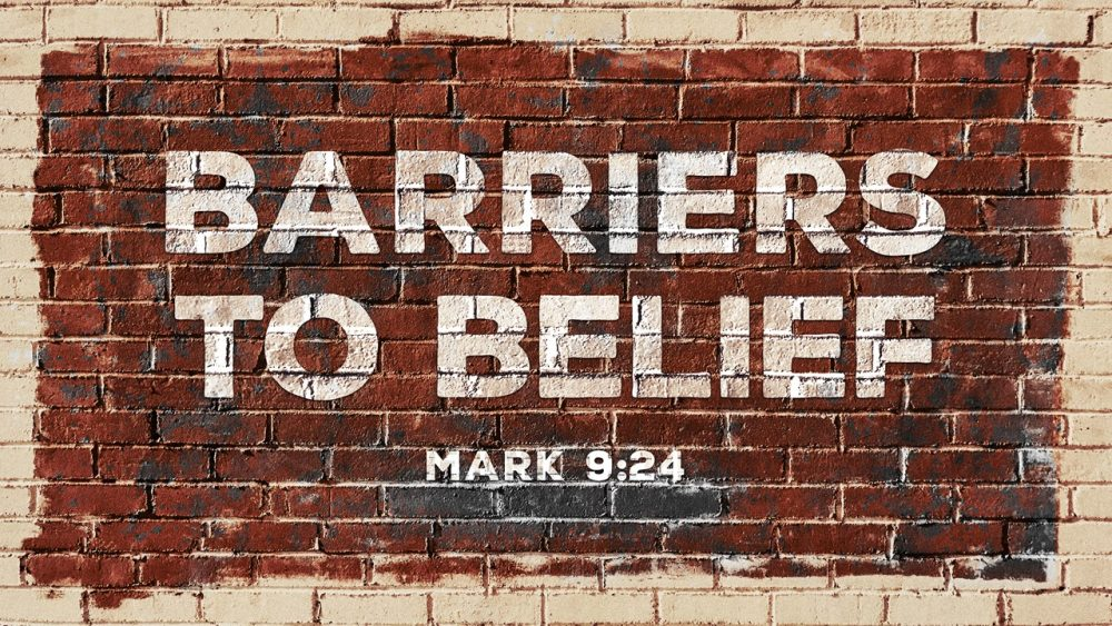 Barriers to Belief Image