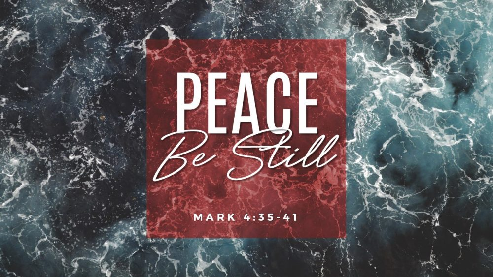 Peace Be Still Image