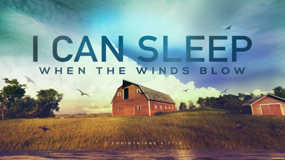 I Can Sleep When the Wind Blows Image