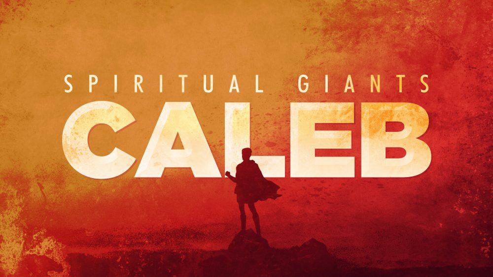 Spiritual Giants: Caleb Image