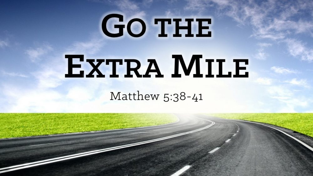 Go The Extra Mile Image