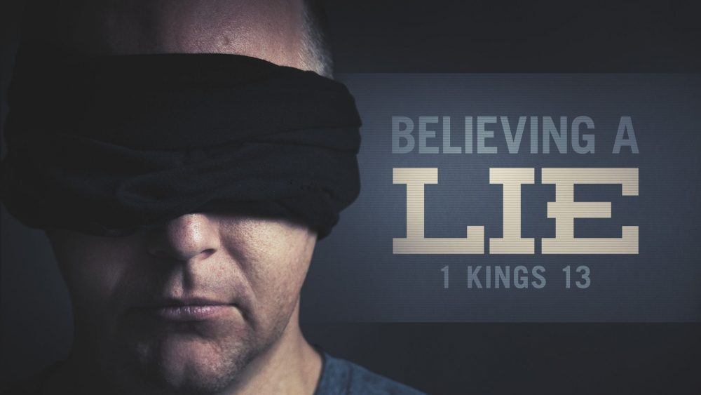 Believing a Lie Image